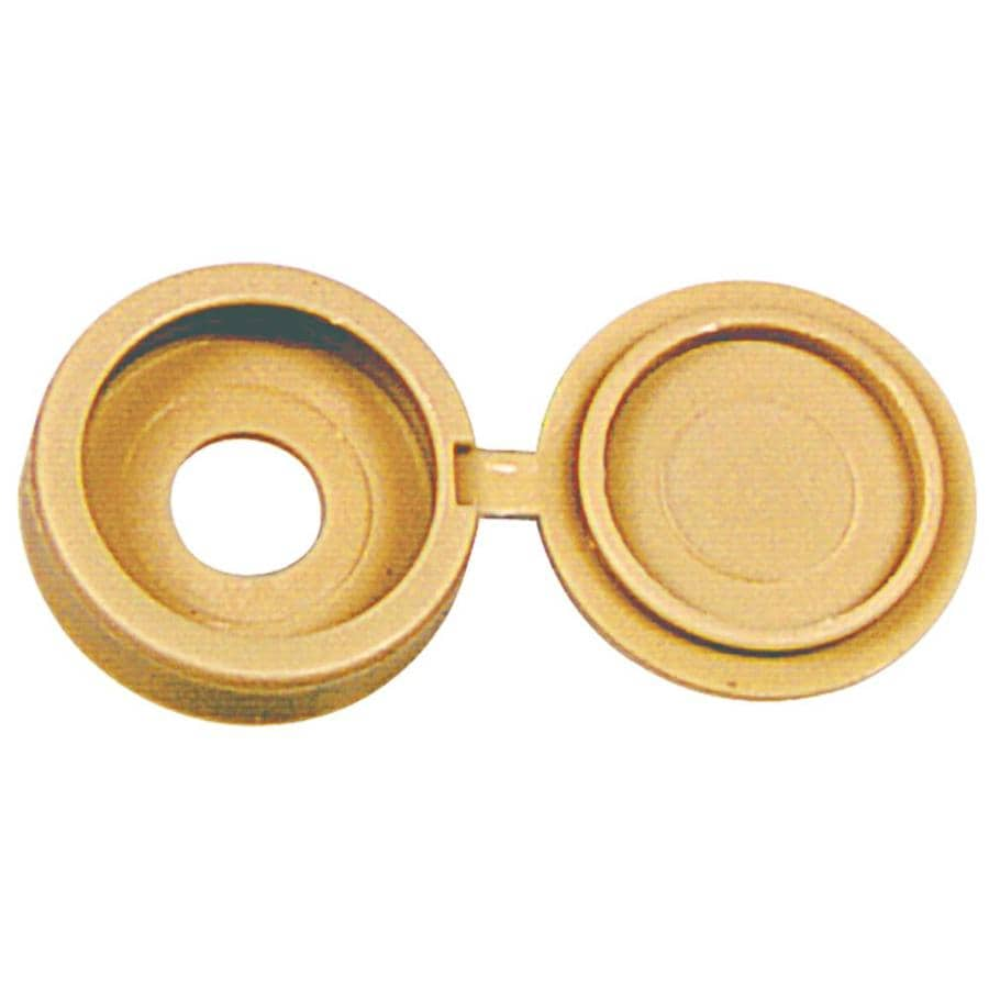 Hillman 2-Pack 0.112 x 0.125 Beige Plastic End Caps