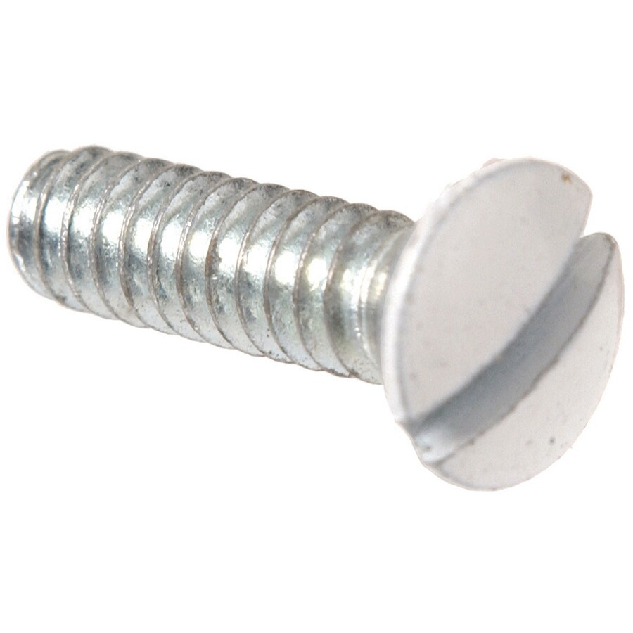 The Hillman Group 2-Count #6 to 32 x 1-in Oval-Head Zinc-Plated Slotted-Drive Standard (SAE) Machine Screws