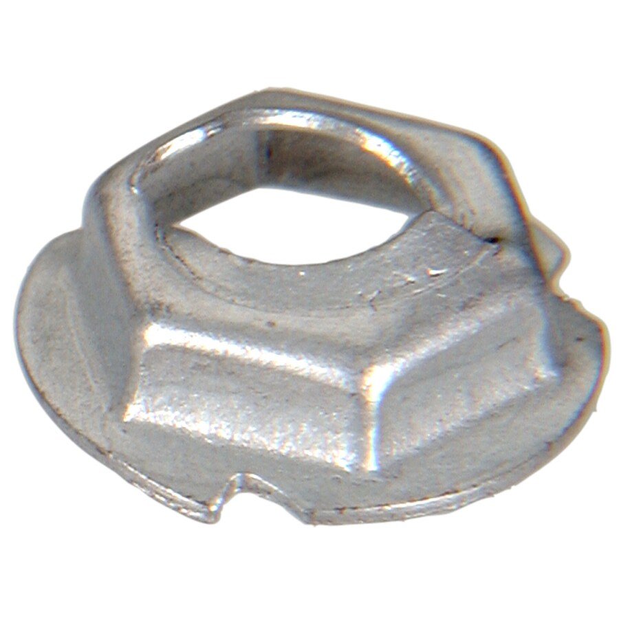 The Hillman Group 4-Count 3/16-in Plain Steel Standard (SAE) Hex Nuts