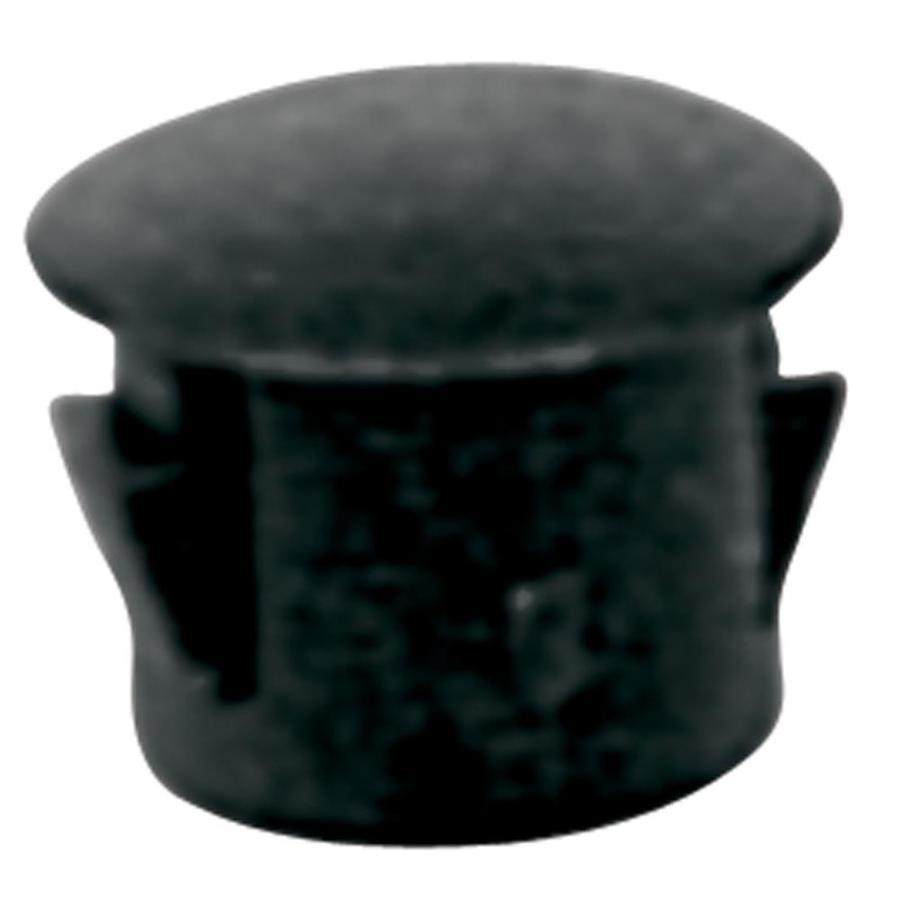 Hillman 2-Pack 1-in Black Plastic Hole Plug