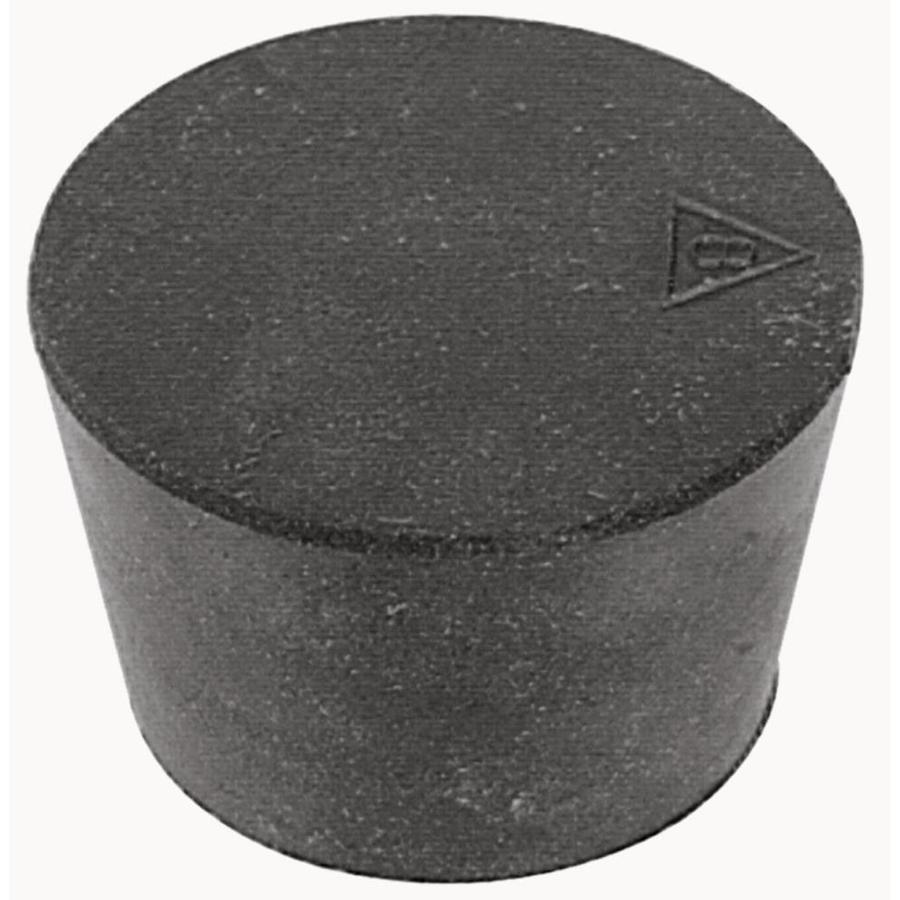 Hillman 2-Pack 3.7-in Black Neoprene Hole Plug