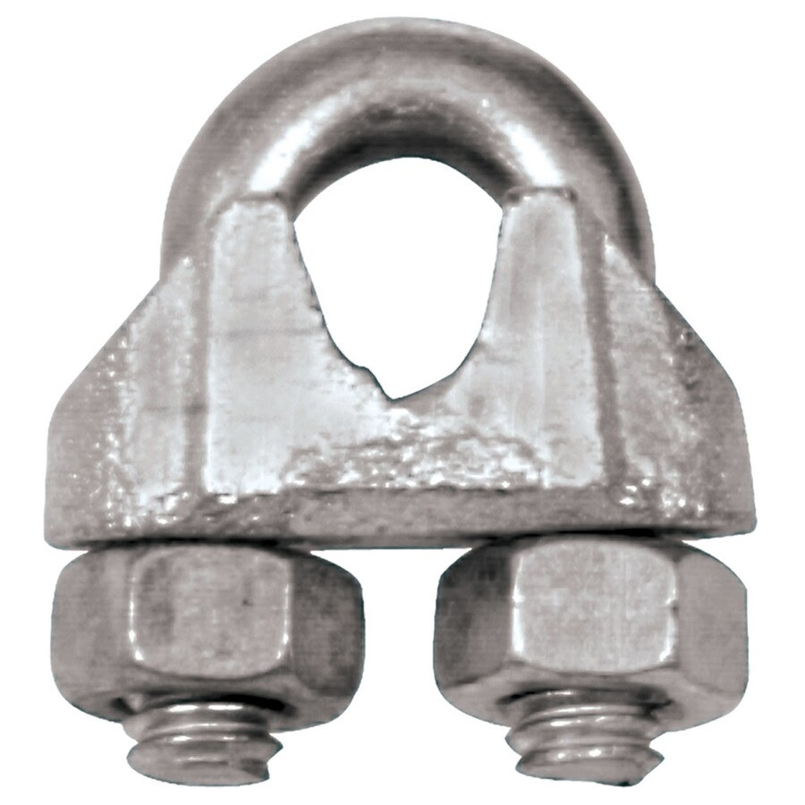 Shop Hillman 5/16-in Steel Wire Rope Clip at Lowes.com