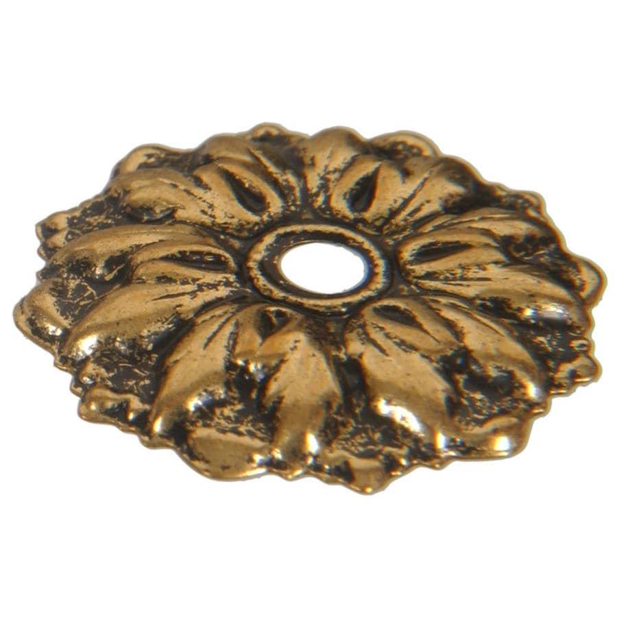 Hillman Antique Brass Mirror Rosettes