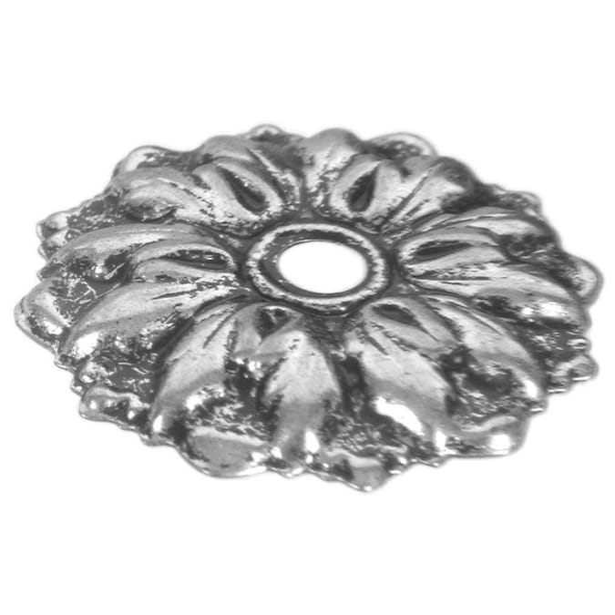 Hillman Antique Brass Mirror Rosettes, How To Install Mirror Rosettes