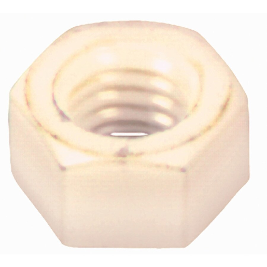 The Hillman Group 4-Count 1/4-in Nylon Standard (SAE) Hex Nuts