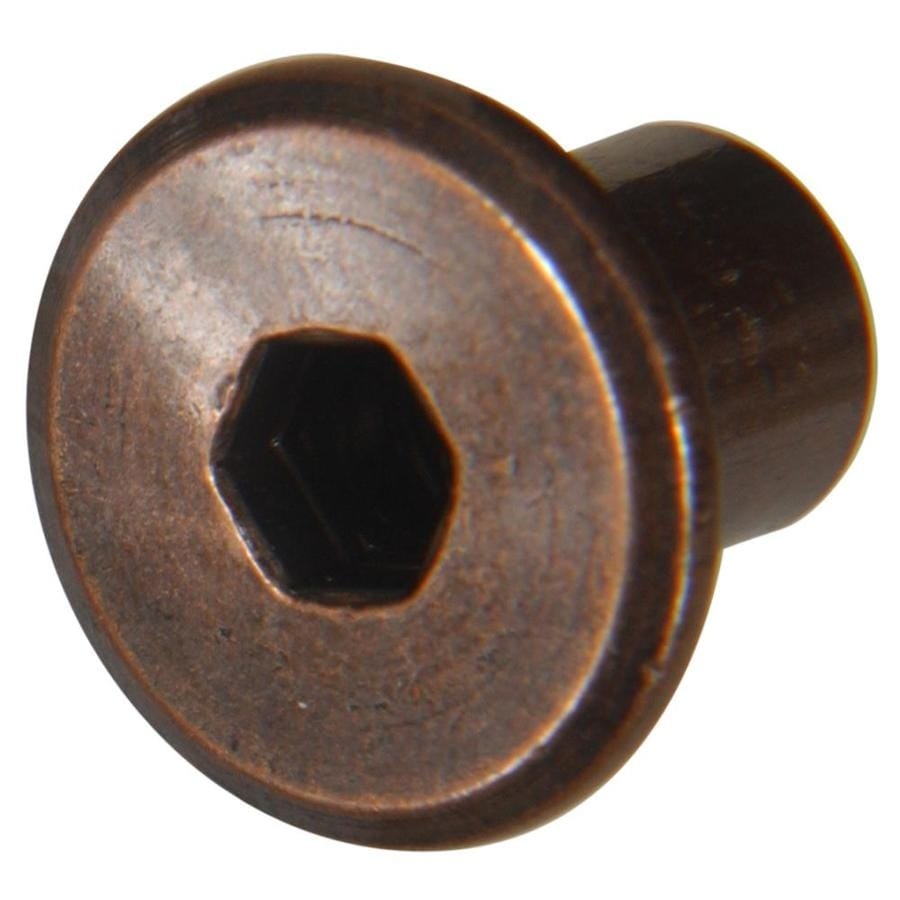 The Hillman Group 4-Count 1/4-in x 1/2-in Antique Bronze Standard (SAE) Joint Connector Nut