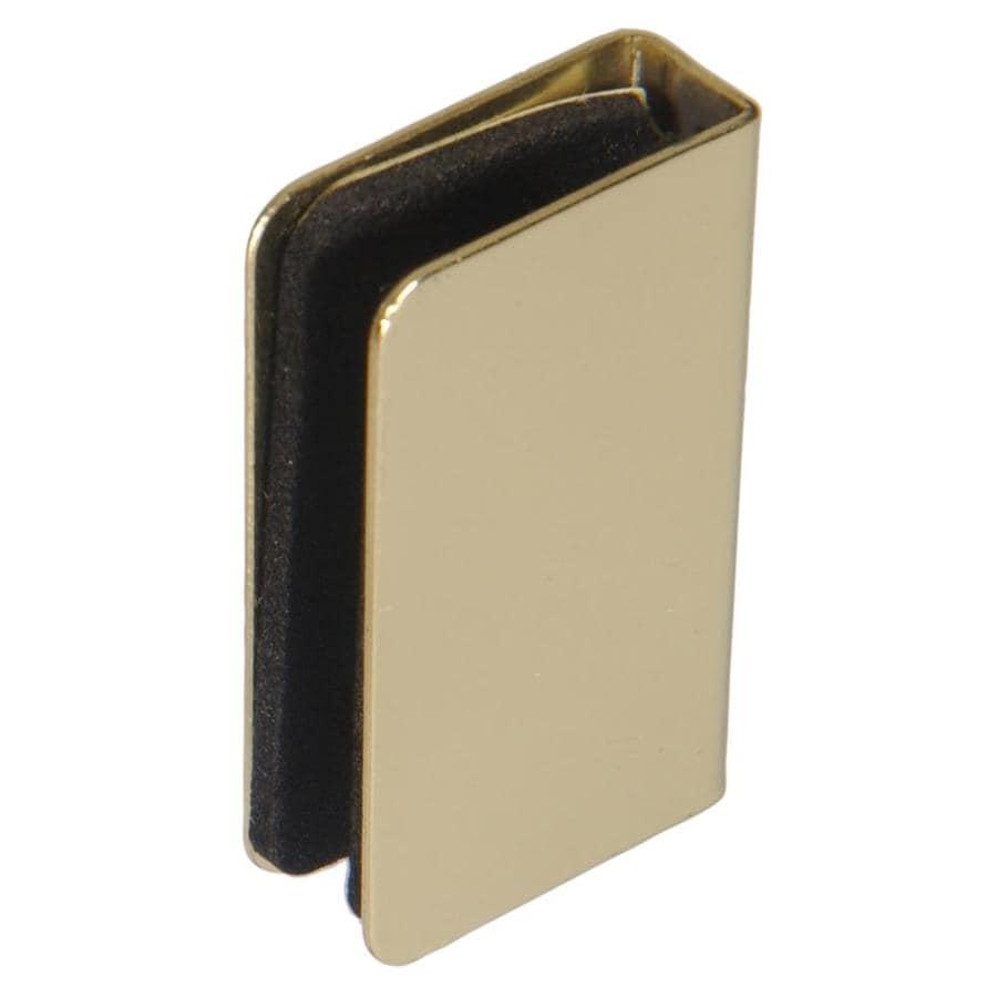 shop the hillman group glass door strike plate brass. Black Bedroom Furniture Sets. Home Design Ideas