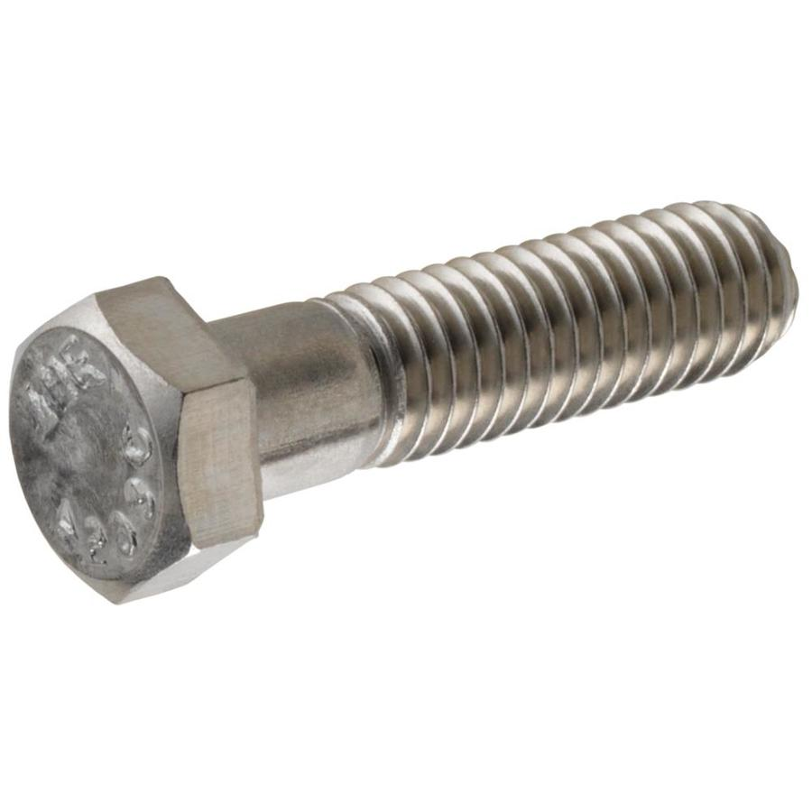 The Hillman Group 2-Count 3/8-in-16 x 2-1/2-in Stainless Steel Standard (SAE) Hex Bolts