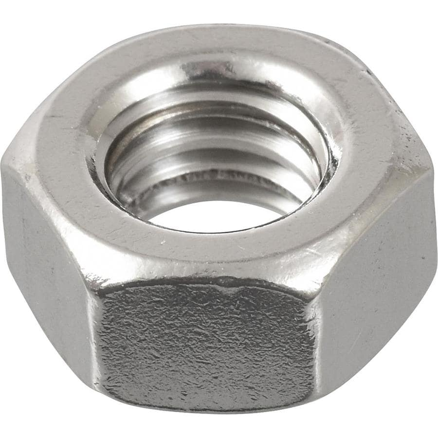 Hillman 5-Count 5/16-in Stainless Steel Standard (SAE) Hex Nuts