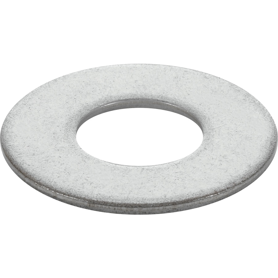 The Hillman Group 5-Count 1/2-in x 1-in Stainless Steel Standard (SAE) Flat Washer