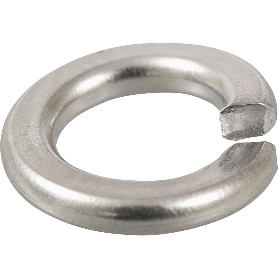 The Hillman Group 5-Count 1/4-in Standard (SAE) Split Lock Washers
