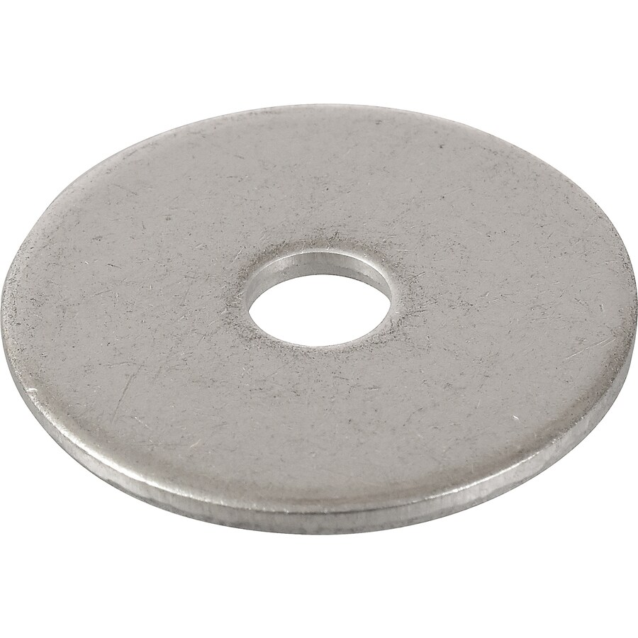 The Hillman Group 5-Count 5/16-in x 1-1/2-in Stainless Steel Standard (SAE) Fender Washers
