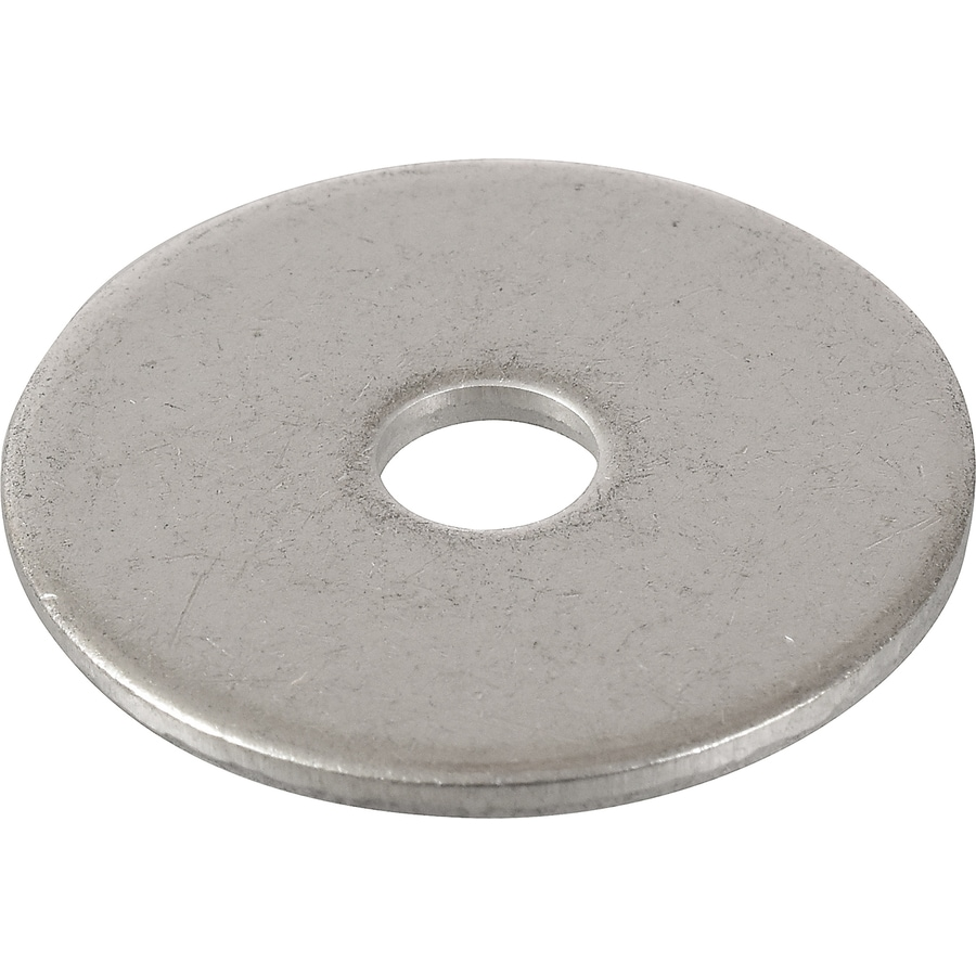 Hillman 5-Count 3/8-in x 1-1/2-in Stainless Steel Standard (SAE) Fender Washers