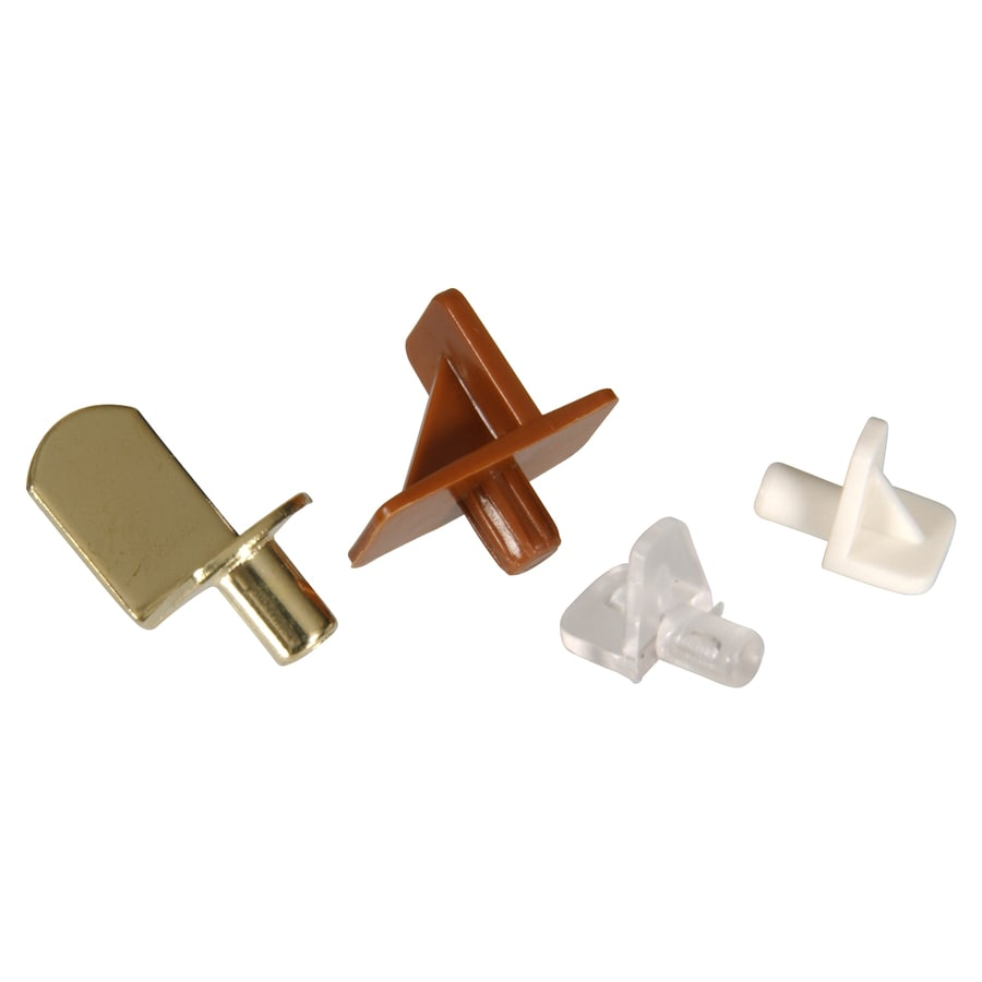 Hillman 20 Pack 5mm Orted Colors Shapes Shelving Hardware