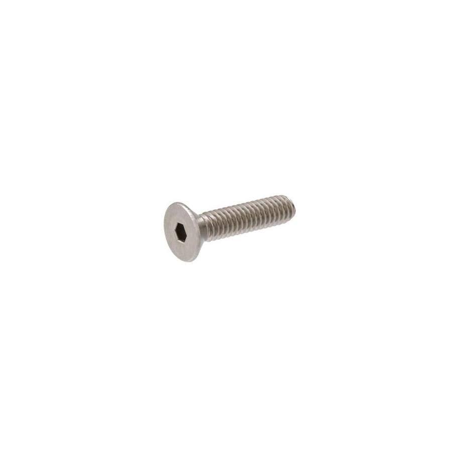 The Hillman Group 8-Count 1/4-in-20 x 1-1/4-in Flat-Head Stainless Steel Allen-Drive Socket Cap Screw