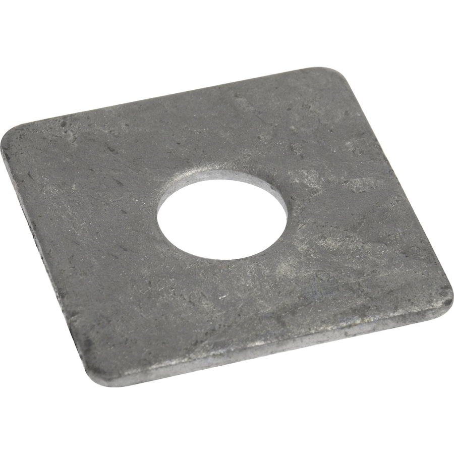 The Hillman Group 100-Count 5/8-in Hot-Dipped Galvanized Standard (SAE) Square Washers