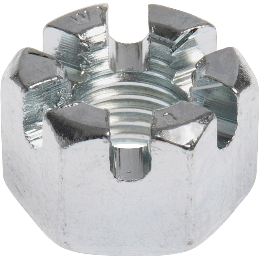 The Hillman Group 15-Count 8mm Zinc-Plated Metric Castle Nut