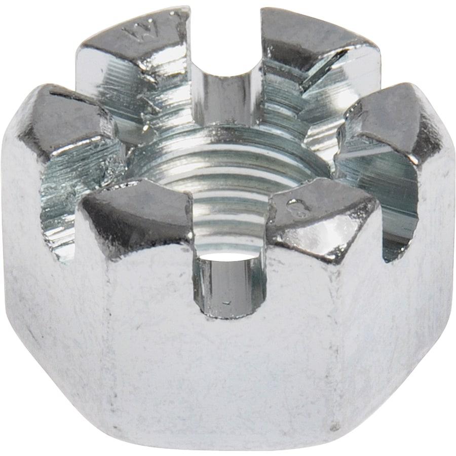 Hillman 15-Count 8mm Zinc-Plated Metric Castle Nut