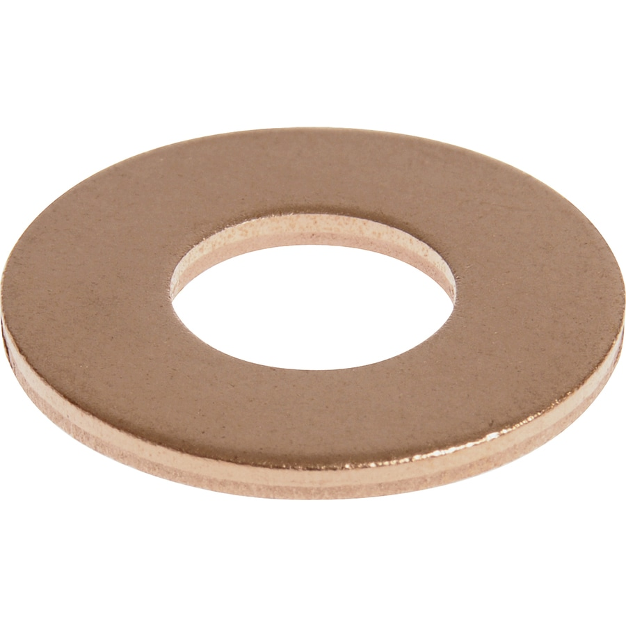 The Hillman Group 45-Count 1/4-in x 11/16-in Copper Standard (SAE) Flat Washers