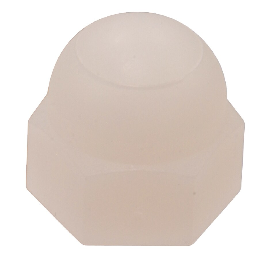 Hillman 30-Count #6 Nylon Standard (SAE) Cap Nuts