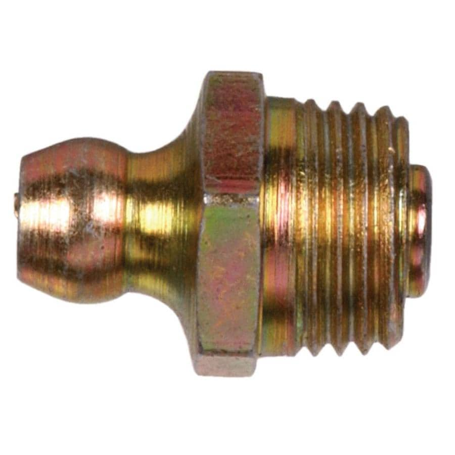 Hillman 1/4-28 Button Head Parallel Grease Fitting