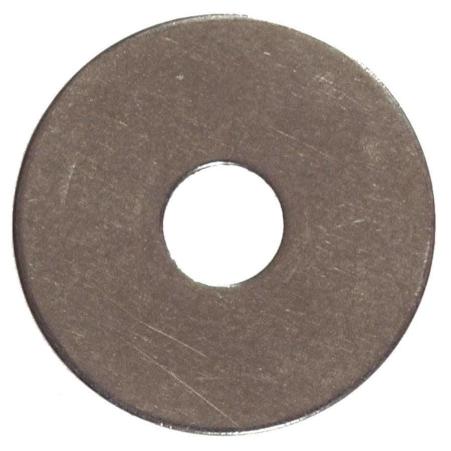Hillman 20 Count 0.250-in x 1-in Stainless Steel Standard (SAE) Flat Washer