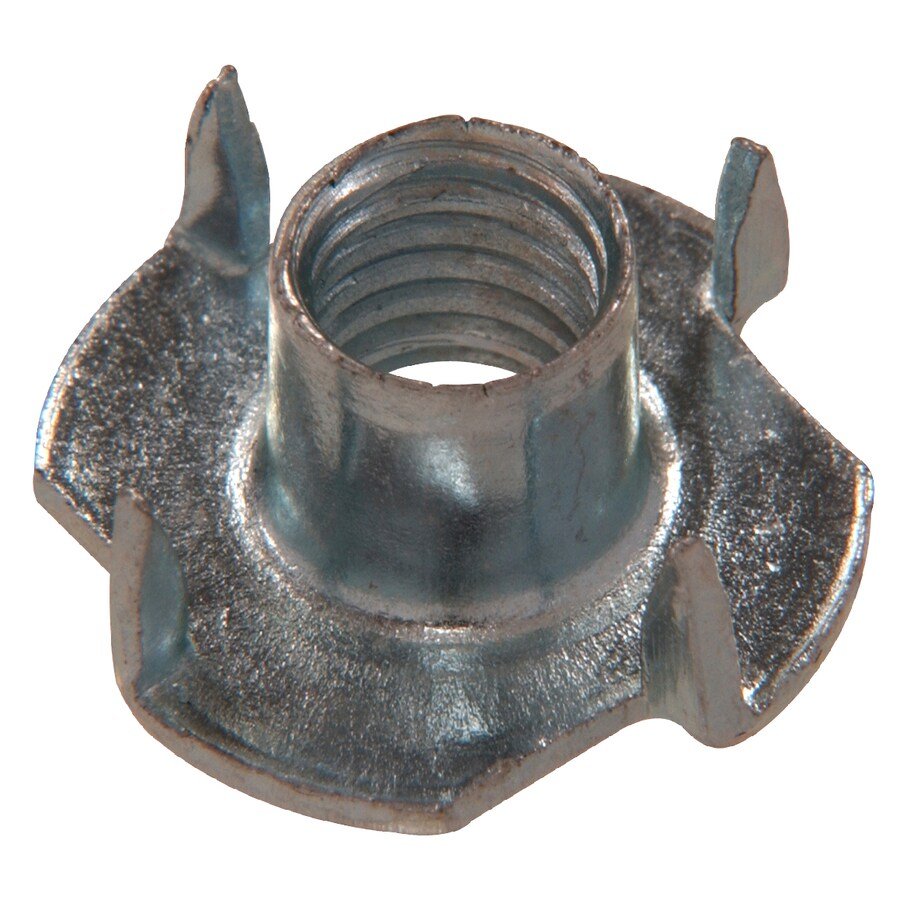 Hillman 6-Count 10mm Zinc-Plated Metric 4-Prong Tee Nuts