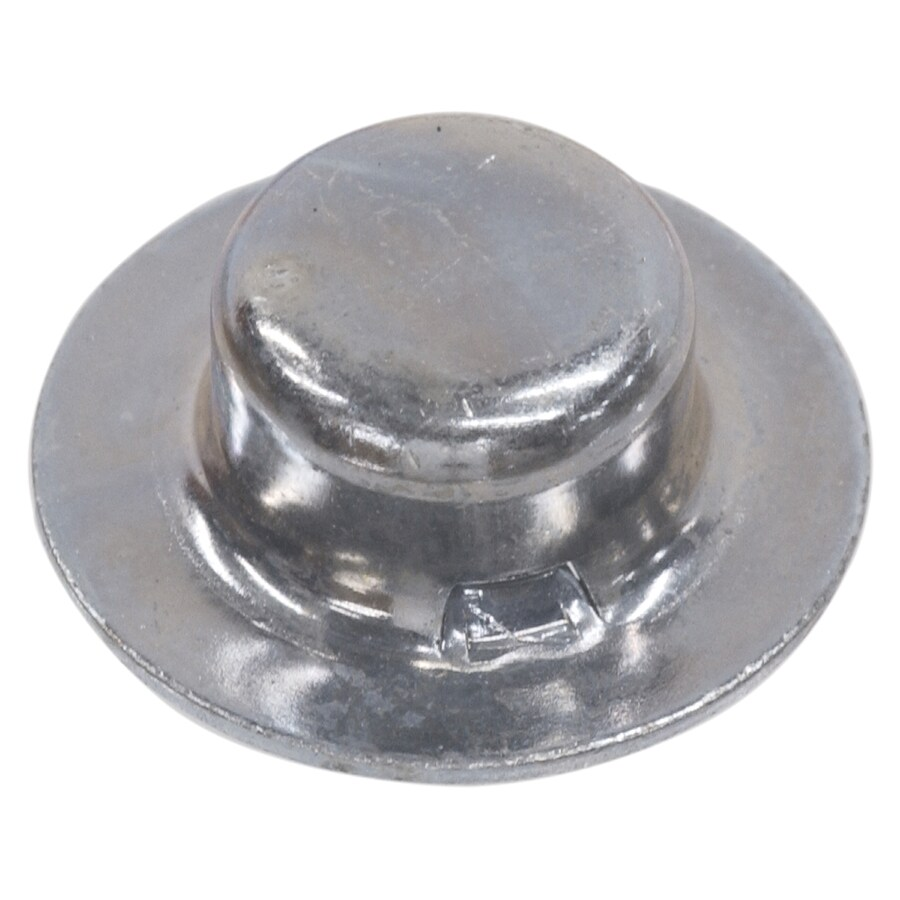 Hillman 2-Count 1/4-in Zinc-Plated Axle Cap Nuts