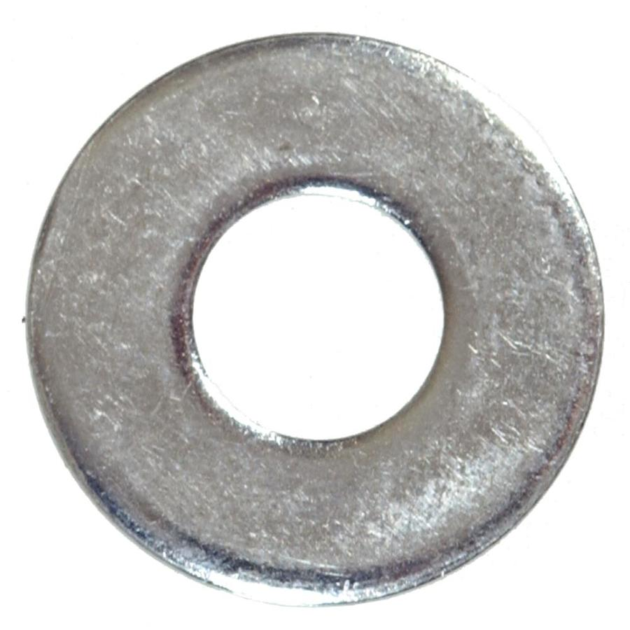 Hillman 5 Count x 1/2-in Zinc-plated Standard (SAE) Flat Washer
