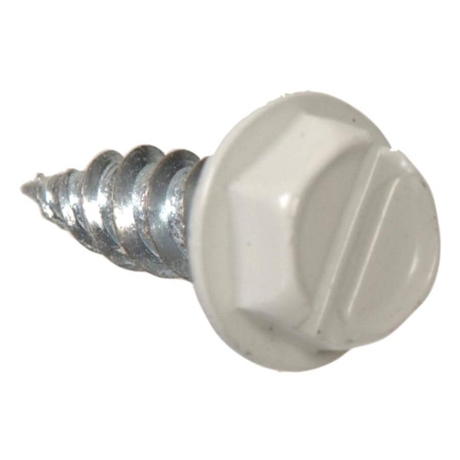 The Hillman Group 100-Count #7 x 0.5-in Zinc-Plated Socket Hex-Drive Interior/Exterior Standard (SAE) Sheet Metal Screws