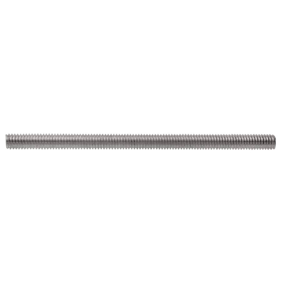 Hillman 1/4-in x 6-in Standard (SAE) Threaded Rod