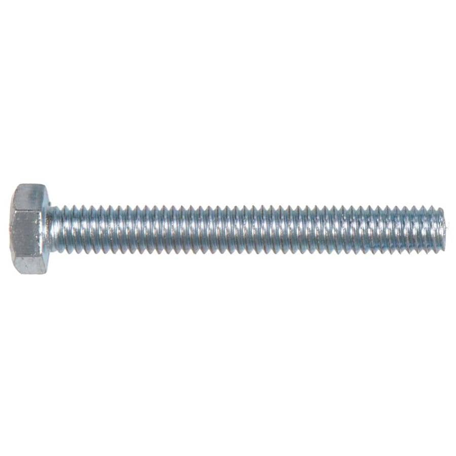 Hillman 2-Count 3/8-in x 2.5-in Zinc-Plated Standard (SAE) Hex Tap Bolt Hex Bolt