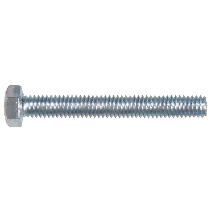 Hillman 2-Count 3/8-in x 5-in Zinc-Plated Standard (SAE) Hex Tap Bolt Hex Bolt