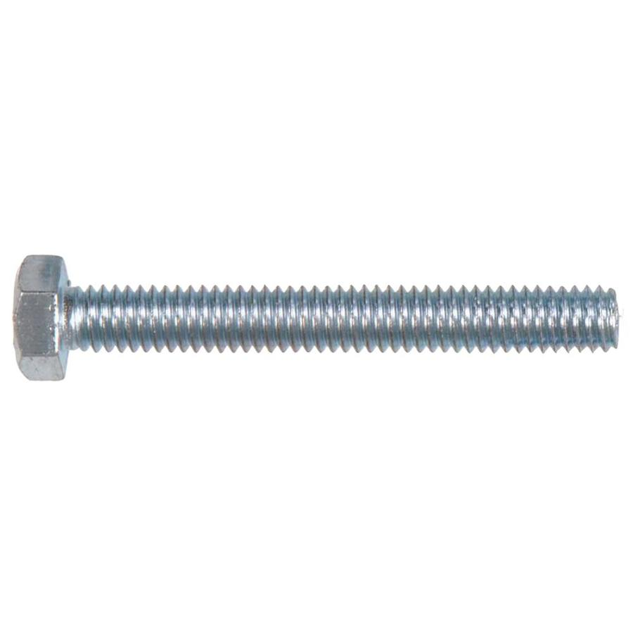 Hillman 5-Count 1/2-in x 5-in Zinc-Plated Standard (SAE) Hex Tap Bolt