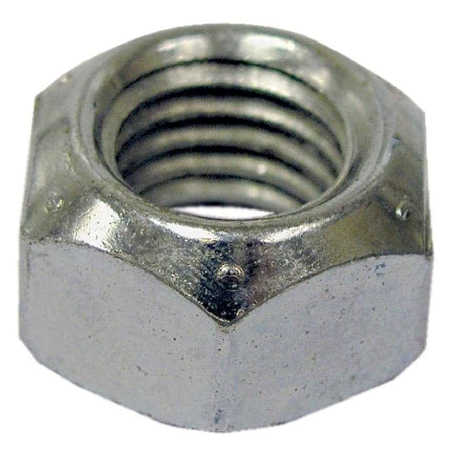 Hillman 2-Count 7/16-in Zinc-Plated Standard (SAE) All Metal Lock Nuts