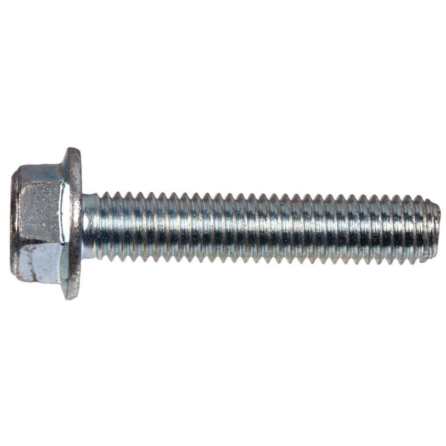 Hillman 2-Count 8mm x 20mm Zinc-Plated Metric Serrated Hex Flange Bolts
