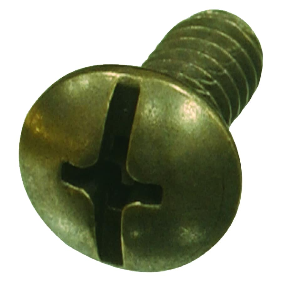 The Hillman Group 24-Count #10-24 x 1/2-in Truss-Head Brass Standard (SAE) Machine Screws