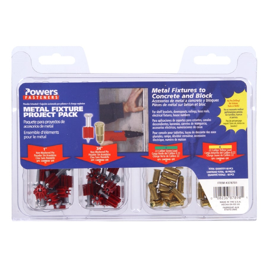 Powers Assorted Pack Pins and Loads
