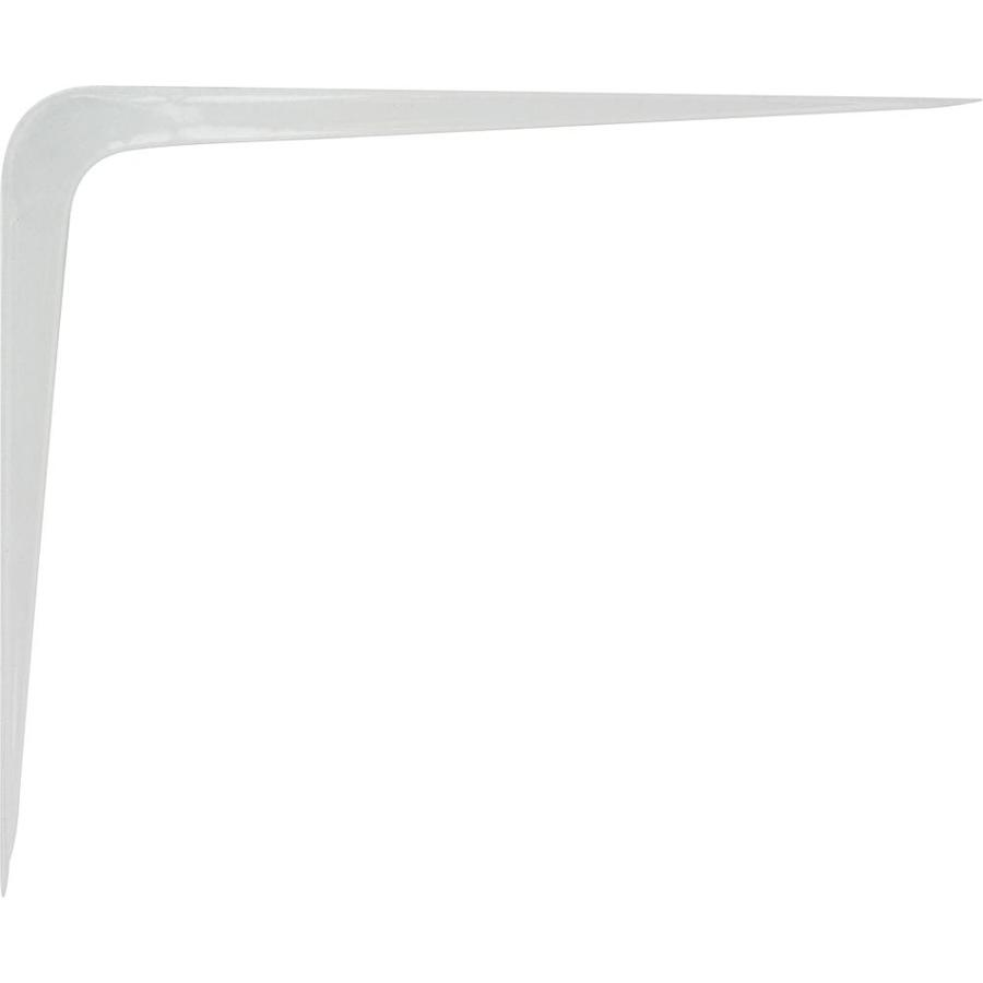 Hillman White L-Shape Shelf Bracket