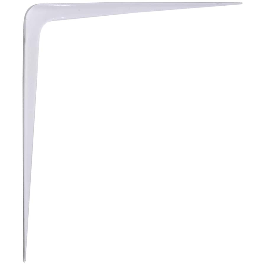 Hillman White Standard Shelf Bracket