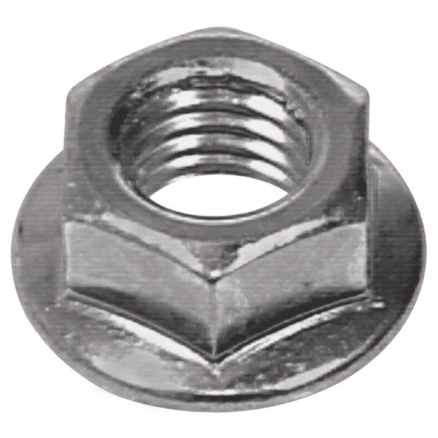 The Hillman Group 10-Count 3/8-in Zinc-Plated Standard (SAE) Flange Nuts