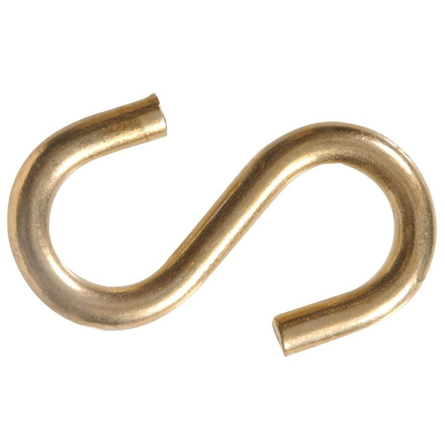 The Hillman Group 3-Pack Brass S Hooks