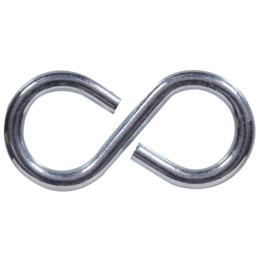 Hillman 4-Pack Zinc S Hooks