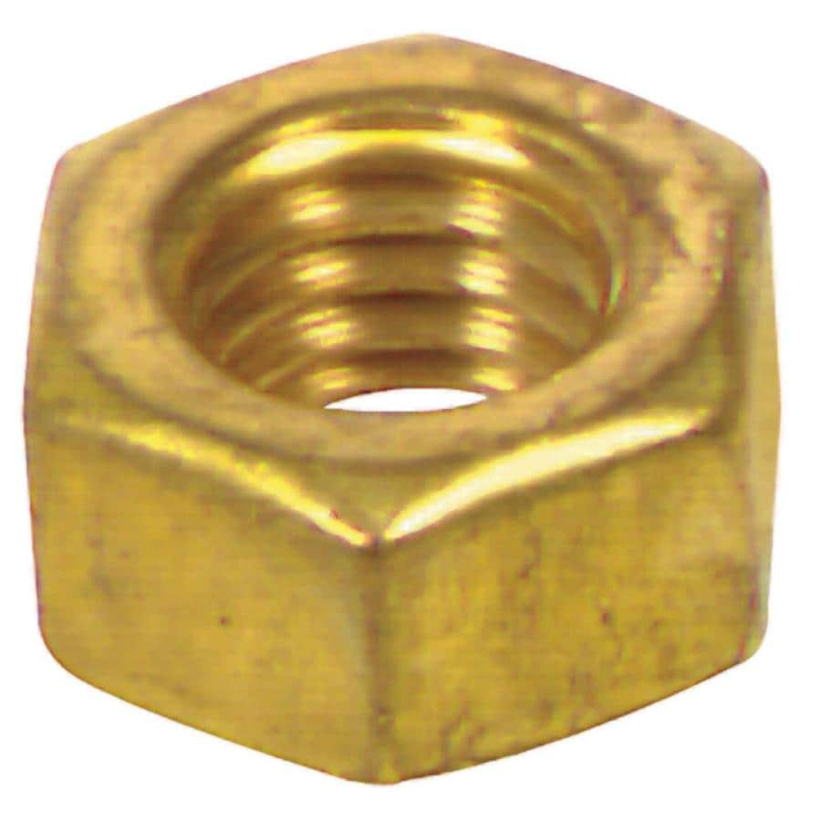 The Hillman Group 5/16-in-18 Brass-Plated Standard (SAE) Hex Nut