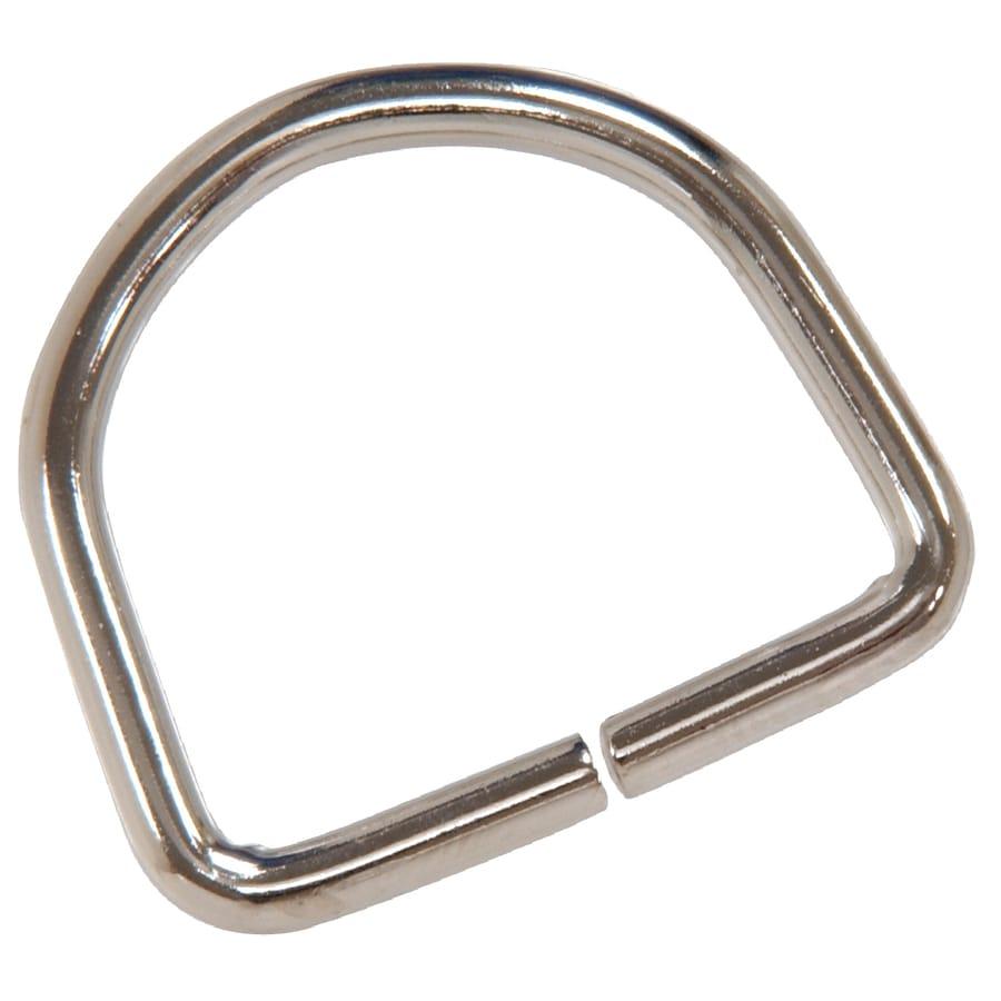 Hillman 1-in Nickel D Ring