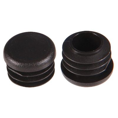Hillman 2-Pack Small-in Black Plastic Caps at Lowes com
