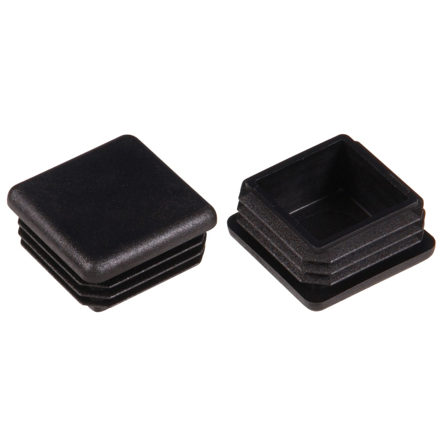 The Hillman Group 2-Pack 1-1/4-in Black Plastic Inside Furniture Tips