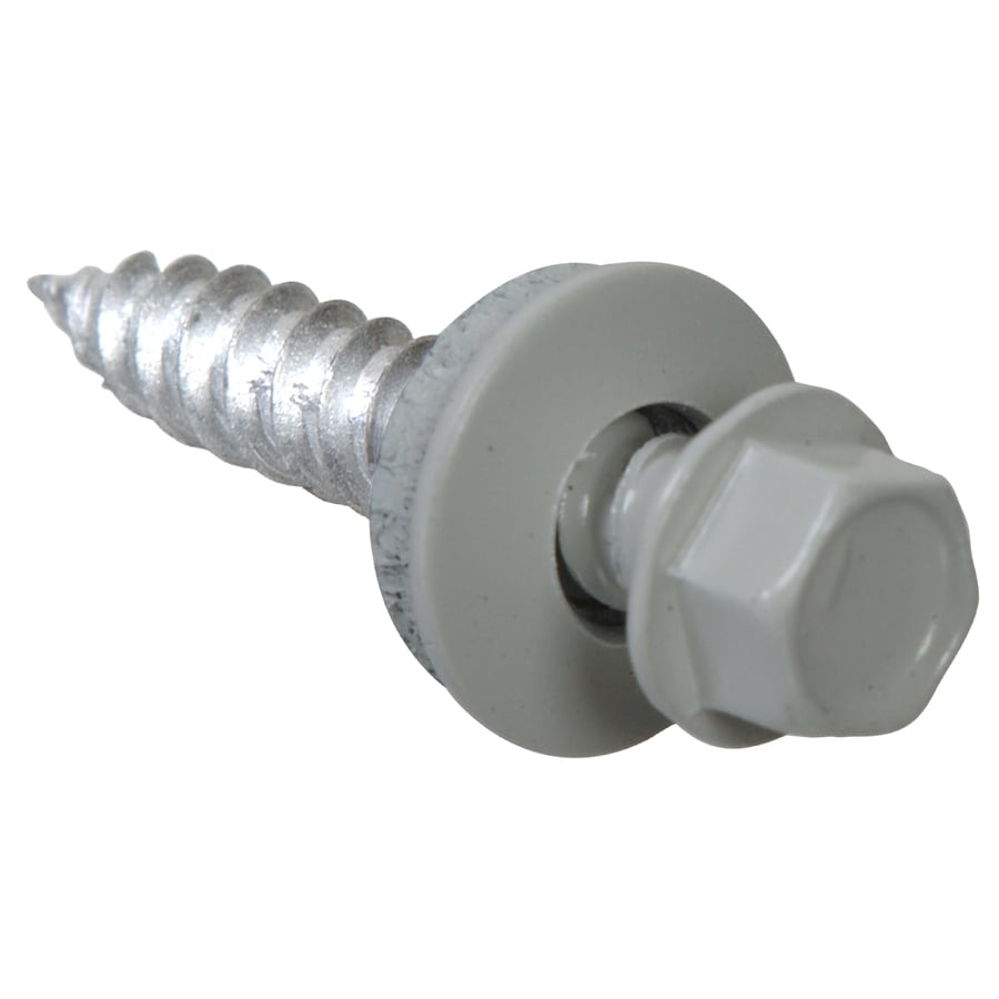 The Hillman Group 500-Count #10 x 1.5-in Ceramic Self-Drilling Socket Hex-Drive Interior/Exterior Standard (SAE) Sheet Metal Screws
