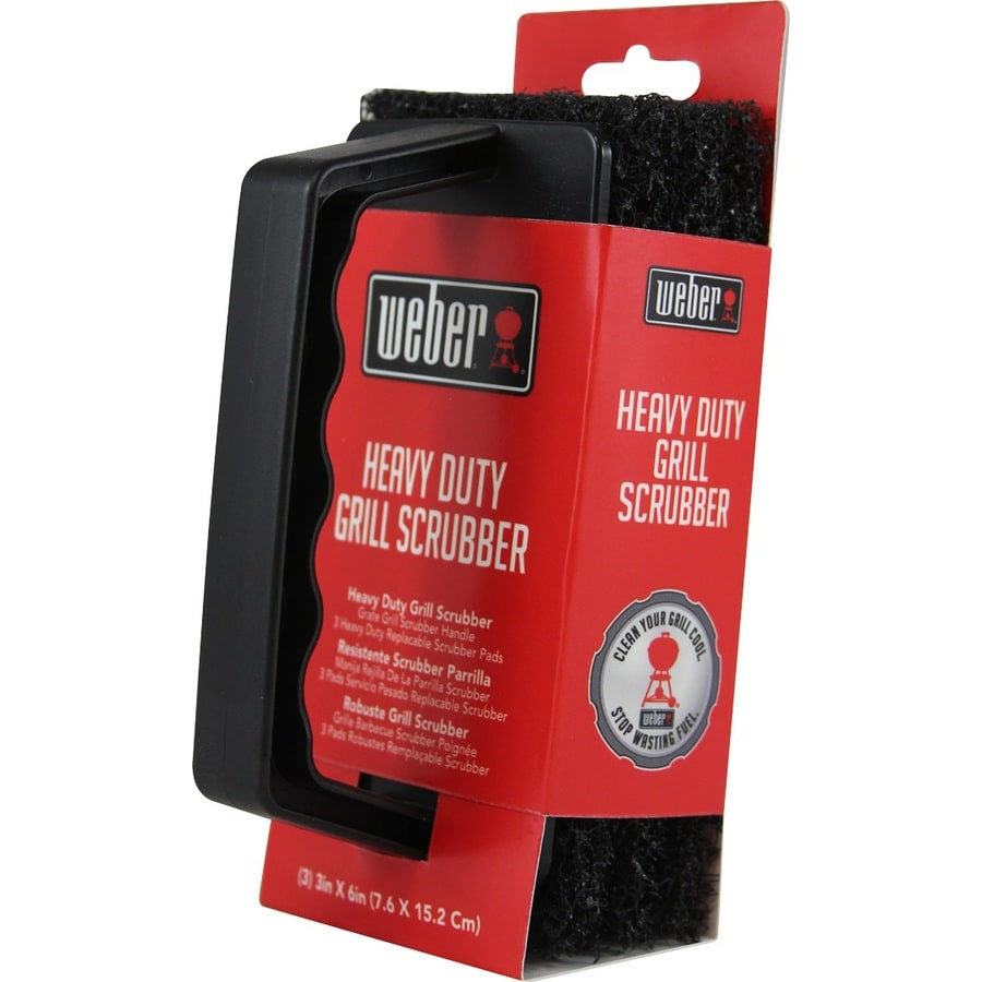 Weber 3 Piece-Count Grill Grate/Grid Cleaner