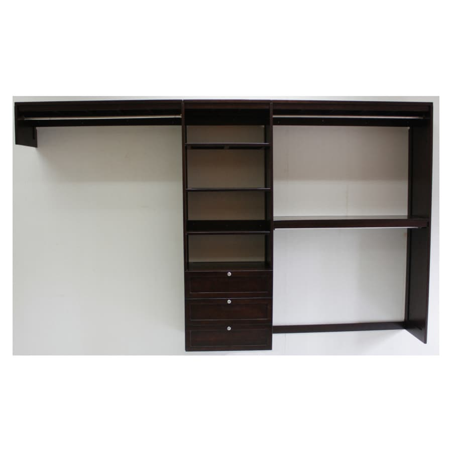 Charmant Allen + Roth 10u0027 Solid Wood Closet Organizer